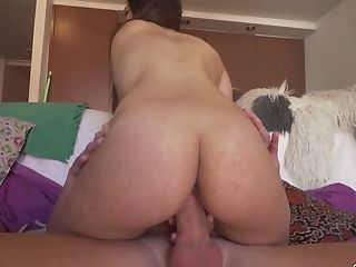 Amateur, Ass, Beauty, Blowjob, Boobless, Couch, Cowgirl, Cumshot, Dick, Friend,