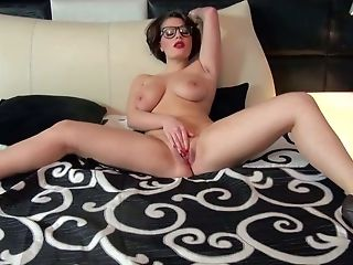 Amy, Big Natural Tits, Big Tits, Brunette, College, European, Exhibitionist, Fake Tits, Glasses, HD,