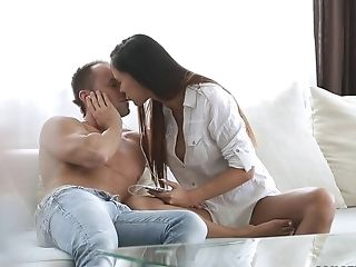 Blowjob, Brunette, College, Pornstar, Romantic, Victoria Sweet,