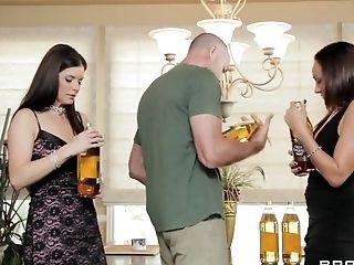 Big Cock, Blowjob, Brunette, HD, India Summer, Lesbian, Michelle Lay, MILF, Natural Tits, Threesome,