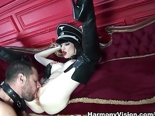 Big Tits, Brunette, Cumshot, Facial, Fetish, Latex, Pornstar, Sofia Valentine,