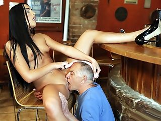 Babe, Blowjob, Brunette, Cheating, Cuckold, Daddies, European, Girlfriend, Gorgeous, Old And Young,