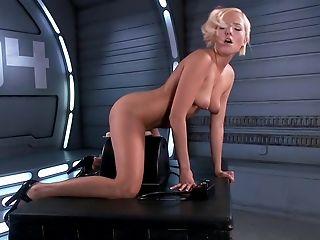 American, Beauty, Blonde, British, Masturbation, Mistress, Sex Toys, Solo, Sybian, Teen,