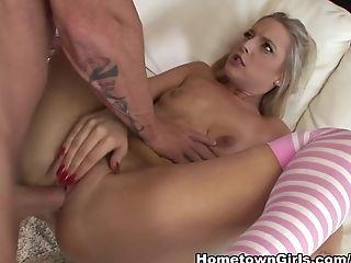 Blonde, Britney Brooks, Cumshot, Hardcore, Pornstar, Tristyn Kennedy,