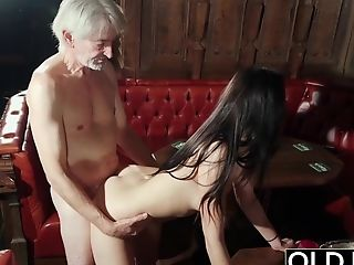 Couple, Grandpa, Hardcore, Old, Sexy, Teen, Young,