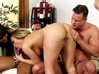 Big Cock, Big Tits, Black, Blonde, Blowjob, Brunette, Caucasian, Cumshot, Group Sex, HD,