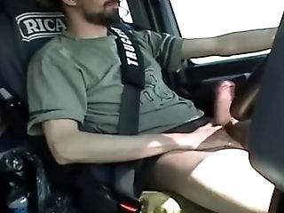 Amateur, Big Cock, Brunette, Car, Caucasian, Cigarette, Ethnic, Hairy, HD, Jerking,