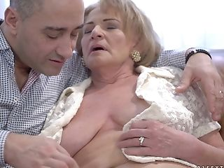 Dick, GILF, Granny, Mature, Pussy, Rough,