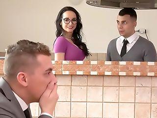 Bathroom, Big Ass, Blowjob, Cheating, Deepthroat, Doggystyle, Handjob, Hardcore, Husband, Missionary,