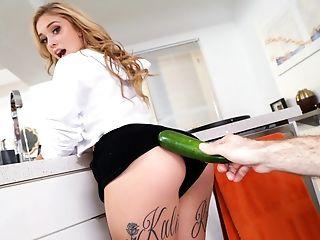 Amazing, Ass, Babe, Blonde, Deepthroat, Dick, Gorgeous, Kitchen, Missionary, Pornstar,