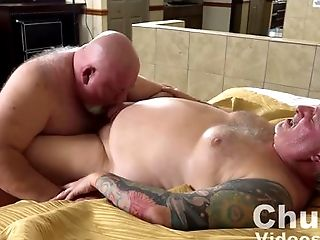 Couple, Cum, Fat, HD, Mature,
