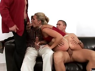 Cherry Jul, Clothed Sex, Doggystyle, Group Sex, Hardcore, Pornstar,
