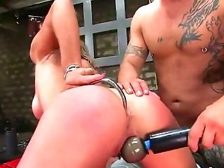 Ass, Babe, BDSM, Blonde, Bondage, Rough, Sex Toys, Torture,