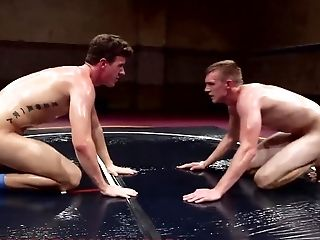 Anal Sex, Blowjob, Face Fucking, Flexible, Jock, Oiled, Wrestling,
