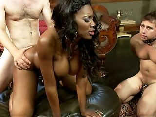 BDSM, Black, Bondage, Cuckold, From Behind, Gorgeous, Humiliation, MILF, Mistress, Nyomi Banxxx,