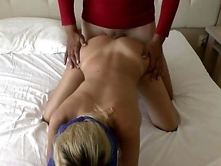 Amateur, Blindfold, Blonde, Couple, HD, Wife,