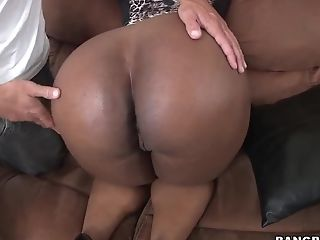 Big Ass, Black, Blowjob, Brunette, Handjob, Hardcore, HD, Interracial, Layla Monroe, Natural Tits,