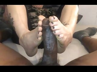 Dancing, Foot Fetish, Footjob, Interracial, Mature, Teacher,