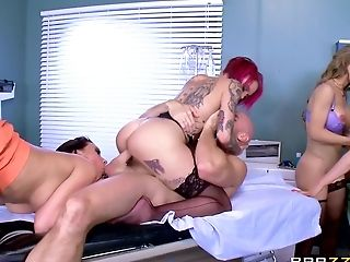 Ass, Babe, Big Tits, Blowjob, Cumshot, Dick, Doctor, Facesitting, Facial, Fake Tits,