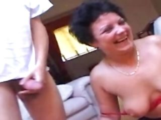 Anal Sex, Ass Fucking, Black, Brunette, Doggystyle, HD, Jerking, Mature, Mmf, Natural Tits,