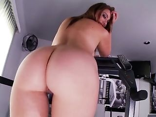 Black, Blonde, Bold, Gym, HD, Jerking, Masturbation, Posing, Solo,