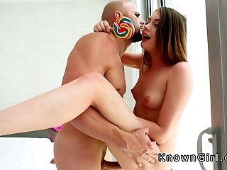 Big Cock, Blowjob, Girlfriend, Licking, Lollipop, Teen,