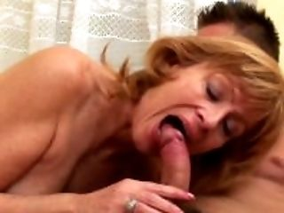Big Tits, Blowjob, Cowgirl, Dick, Felching, GILF, Granny, Hairy, Huge Tits, Oral Sex,