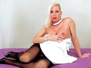 Black, Blonde, Bold, Caucasian, Dick, Feet, Fetish, French, HD, High Heels,