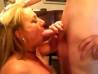 Amateur, Blonde, Blowjob, Wife,