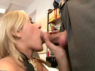 Blonde, Blowjob, French, Hardcore, HD, Rough, Slim, Stewardess, Teen, Uniform,