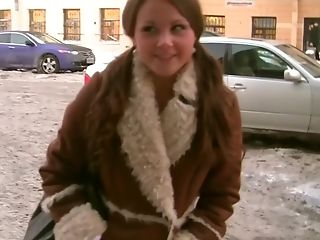 Babe, Blowjob, Facial, HD, Liza Shay, Public, Russian, Slut, Threesome, Toilet,