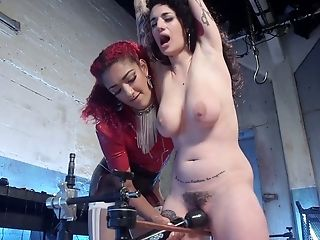 Arabelle Raphael, BDSM, Big Tits, Bondage, Brunette, Clit, Cute, Dildo, Dirty, Femdom,