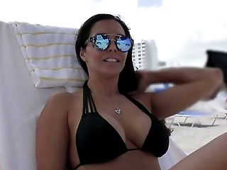Ass, Big Cock, Big Tits, Bikini, Black, Blowjob, Cumshot, Cute, Facial, Francesca Le,