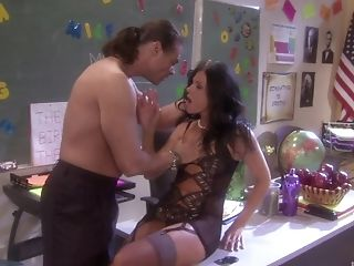 Blowjob, Brunette, Couple, Dick, Hardcore, High Heels, India Summer, Lingerie, Long Hair, Mature,