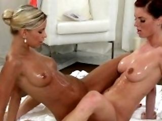 Ass, Couple, Cute, Desk, Female Friendly, Female Orgasm, Fingering, Freckled, HD, Massage,