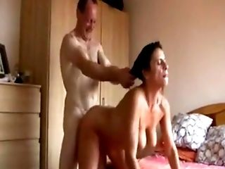 Amateur, Big Tits, Bobcat, Close Up, Couple, Cum, Cumshot, Doggystyle, Granny, Hardcore,