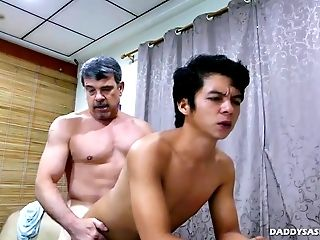 Asian, Boy, Daddies, Ethnic, HD, Interracial, Old And Young,