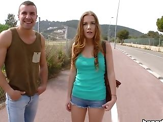 Alexis Crystal, Blowjob, Czech, Doggystyle, Hardcore, HD, Natural Tits, Public, Pussy, Redhead,
