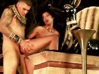 African, Big Cock, Black, Blowjob, Boots, Cosplay, Dick, Doggystyle, Egyptian, Fantasy,