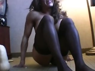 Bodybuilder, Exhibitionist, Female Bodybuilder, Fetish, Insertion, Jerking, Latina, Masturbation, Mature, Muscular,
