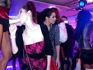 Club, Cute, Felching, Lesbian, Orgy, Party, Reality, Sex Toys, Strapon,