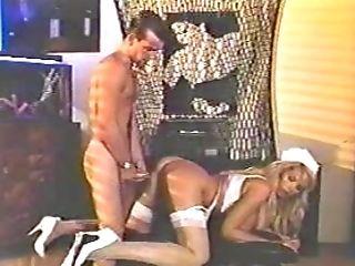 Big Tits, Blonde, Fake Tits, High Heels, Nurse, Retro, Stockings,