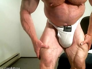HD, Hunk, Jock, Mature, Muscular,